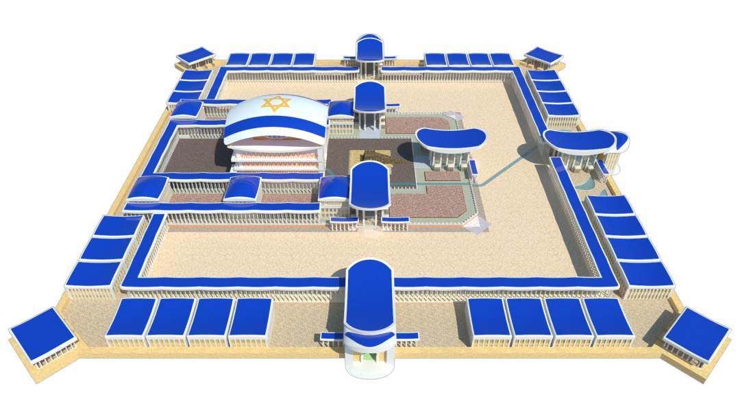 Ezekiel's Temple. The Third Temple.