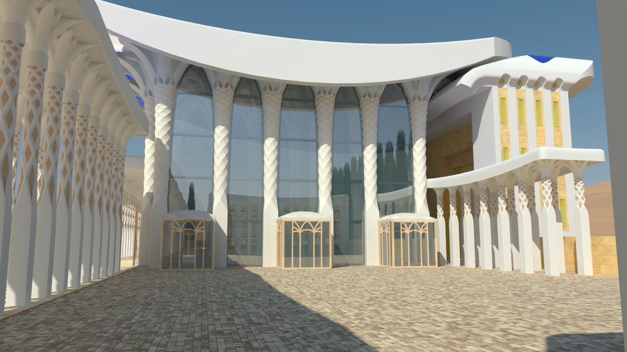 Храм по Иезекиилю